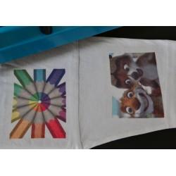 Papier do sublimacji na bawełne A4 10 arkuszy