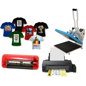 Zestaw do sublimacji A3 dla firm z ploterem Cutok i z drukarką Epson L1300