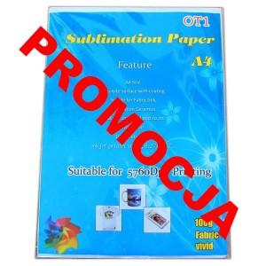 Papier A4 do sublimacji 5760dpi