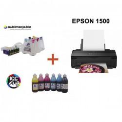 EPSON Stylus Photo 1500 z system stałego zasilania CISS