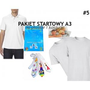 5. Pakiet startowy, na mat.płaskie i koszulki