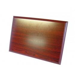 Drewniana podkładka pod blachę aluminiową